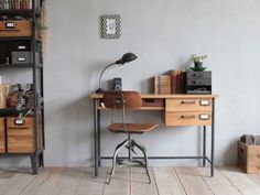 Gate Furniture, Office Decor, Home Office, Kids House, House Rooms, Corner Desk, Cool Designs, House Design, Table