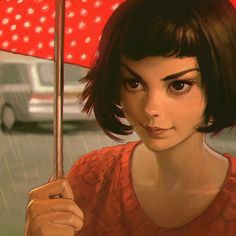 """Amélie"" by Ilya Kuvshinov - Blog/Website 