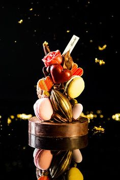 Mon cher Macaron & Chocolate #plating #presentation