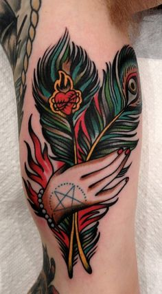tattoo by Paul Dobleman