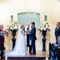 Vows | Wedding Ceremony | Say I Do | Tybee Island Wedding Chapel | Savannah, Georgia Wedding Venues | Photo by Tamara Gibson
