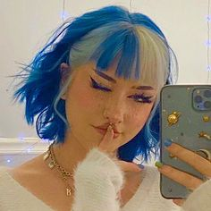 Hair Color Streaks, Hair Dye Colors, Hair Inspo, Hair Inspiration, Short Dyed Hair, Pretty Hair Color, Indie Hair, Aesthetic Hair, Dye My Hair
