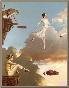 Michael Parkes - Dance of Secrets