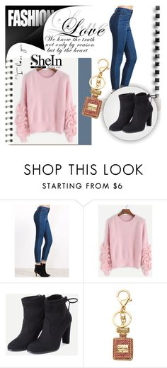 """""""SheIn 10/2"""" by melissa995 ❤ liked on Polyvore featuring Koo and WithChic"""