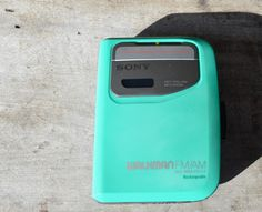 Sony Walkman  WM-FX117 Cassette Play and AM/FM Radio by TangibleIntangibles on Etsy