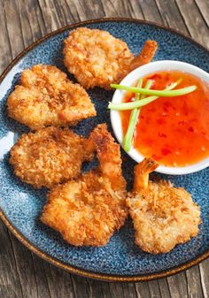 Easy Seafood Recipe: Butterflied Coconut Shrimp with Sweet Chili Dipping Sauce