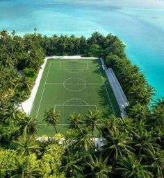 [New] The 10 Best Home Decor (with Pictures) - Stay active in paradise and join us for a game of football. Tag the person you would play here with? Football Pitch, Football Stadiums, Football Field, Sport Football, Field Of Dreams, Football Wallpaper, Menorca, Tulum, Adventure Travel