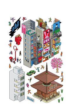 Tokyo e-City ~ Re-Stik
