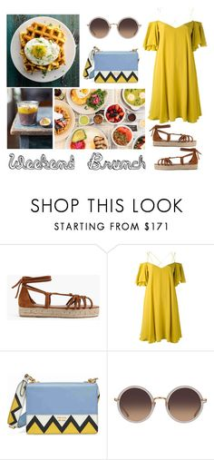 """Weekend Brunch"" by catarina-spinola ❤ liked on Polyvore featuring J.Crew, Jamie Oliver, Ultimate, Essentiel, Prada, Linda Farrow and fashionset"