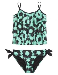 Shop Daisy Tankini Swimsuit and other trendy girls swimsuits swim at Justice. Find the cutest girls swim to make a statement today.