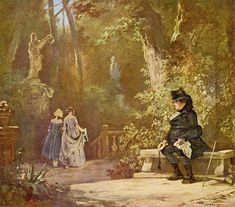 Large picture: Carl Spitzweg: The widower - Mensch Carl Spitzweg, Achaemenid, Am Meer, Art Reference Poses, Monet, Impressionism, Love Of My Life, Germany, Fine Art