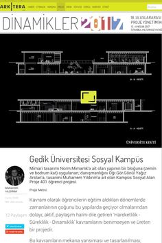 Tasarım Ekibi : Muharrem YILDIRIM Sosyal Kampüs Projesi | Arkitera  http://www.arkitera.com/proje/7555/uni-kampusu-%7C-sosyal-alan-tasarimi