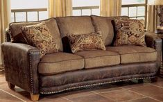 Details About Cordoba Traditional Faux Leather Chenille