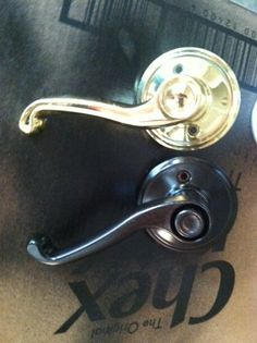 Refinish Your Brass Door Hardware In Minutes (and For Close To Nothing)!