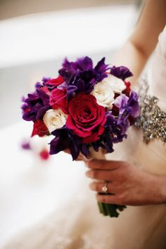 Winter wedding flower bouquet, not sure if you would like this, but it's pretty :)