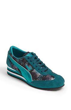 2829a78345e4 PUMA  Caroline Stripe  Wedge Sneaker (Women)
