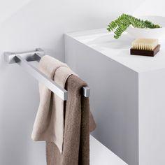 Handtuchhalter aus mattem Edelstahl von ZACK