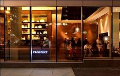 Prospect - Prospect is a more casual dining hall from the team behind San Francisco's acclaimed Boulevard. Partners Nancy Oakes (James Beard award-winning chef/owner of Boulevard), Pam Mazzola and Kathy King.