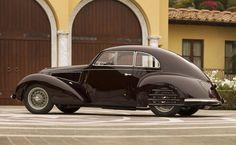1938 Alfa Romeo 6C 2300B Mille Miglia Berlinetta by Touring