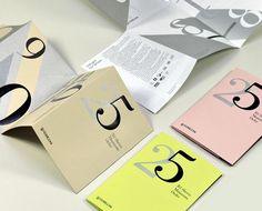 Fedrigoni '25′ Promo Booklet by Design LSC