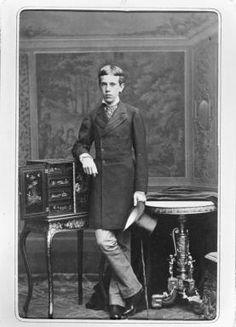 "Rudolf of Austria, son of Empress Elisabeth of Austria (""Sisi"")"
