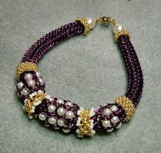 Viking Knit jewelry, taken to the next level! This is all about embellishments to viking knit jewelry - woo hoo!  :)