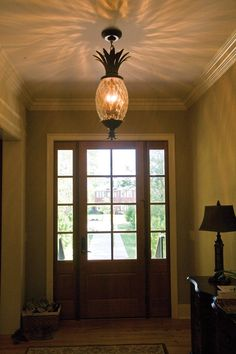 Awesome pineapple chandelier - plan 01 - 024S-0021 - houseplansandmore.com