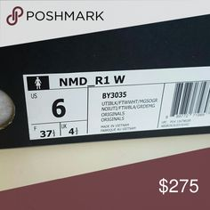 AUTHENTIC Adidas NMD R1 I bought multiple pairs to try on for size. These are straight from the Adidas website. These are sold out everywhere! Offers are welcome, I'll work with you if you are a serious buyer. Adidas Shoes Sneakers