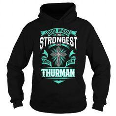 I Love THURMAN,THURMANYear, THURMANBirthday, THURMANHoodie, THURMANName, THURMANHoodies T-Shirts