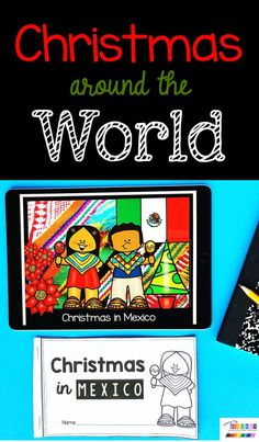 FREEBIES Christmas Around The World Kindergarten Unit - December Italy Germany Mexico traditions crafts reading lessons guided reading printable books writing activities fine motor tracing videos read alouds ideas FREEBIES #kindergartensocialstudies #kindergarten Mexico Christmas, Christmas In Germany, Christmas In Italy, Christmas Books, A Christmas Story, All Things Christmas, Christmas Goodies, Enrichment Activities, Free Activities