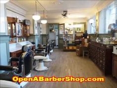 A great video on how to open your own barber shop.