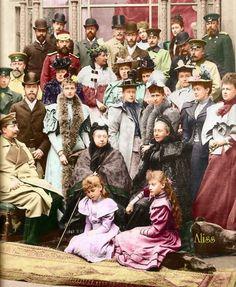 Gathering of the clan at Coburg