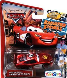 Disney/Pixar Cars Radiator Springs Classic 'Lightning McQueen' 1/50 Scale Exclusive Vehicle. #Disney/Pixar #Cars #Radiator #Springs #Classic #'Lightning #McQueen' #Scale #Exclusive #Vehicle