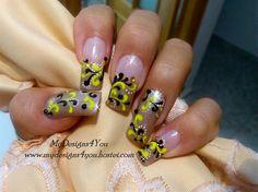 Fall nail art.  by MyDesigns4you - Nail Art Gallery nailartgallery.nailsmag.com by Nails Magazine www.nailsmag.com #nailart