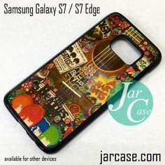 The Beatles Guitar Phone Case for Samsung Galaxy S7 & S7 Edge