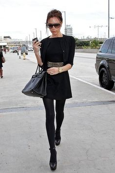All black outifts (with a little flare) are totally my style. I prefer simple clothing with fun/eye catching accessories (like shoes, jewelry, purse, etc.)