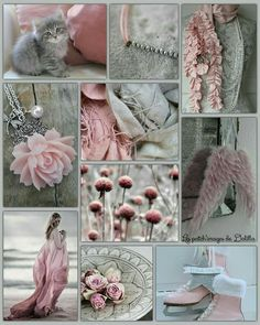 Grey and Rose