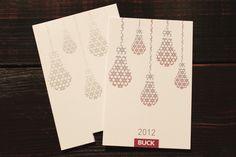 Season's Greetings 2012 by Olivera Miletic, via Behance