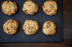 Everything Cookies - oats, choc-chips, peanut butter, raisins, nuts and pretzels in one cookie... sounds like s dream!