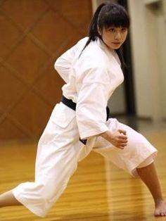 Karate gril