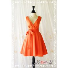 My Lady Ii Spring Summer Sundress Vintage Design Tangerine Party Dress... ($45) ❤ liked on Polyvore featuring dresses, black, women's clothing, vintage dresses, summer dresses, vintage black cocktail dress, black dress y sexy summer dresses
