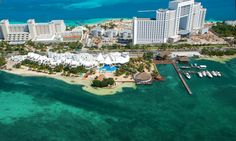 All-Inclusive Stay at Sunset Marina Resort & Yacht Club in Cancun Mexico.