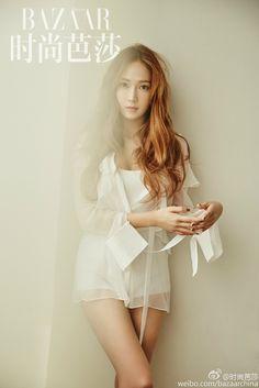 """jessica jung for harper's bazaar "" Jessica & Krystal, Krystal Jung, Kpop Girl Groups, Kpop Girls, Korean Girl, Asian Girl, Asian Ladies, Korean Style, Girls Generation Jessica"