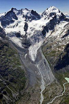Pontresina Tschiervagletscher, Graubünden