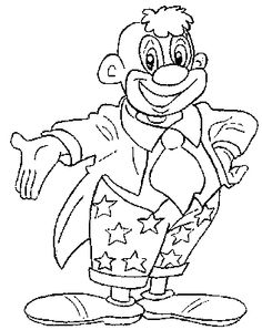 Coloring pages for kids to print - Clowns and circus coloring page/clown-coloring-pages-67