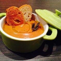 Zuppa di castagne e ceci. Condivisa da: http://peppersmatter.wordpress.com