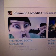 This was the first video I saw of them and thus the spiral of the Phandom occurred