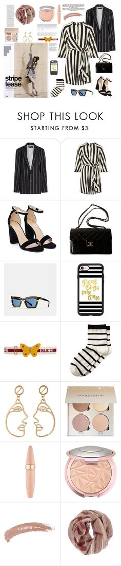 """""""Senza titolo #6990"""" by waikiki24 ❤ liked on Polyvore featuring Haider Ackermann, Topshop, Nasty Gal, Chanel, Coach, Casetify, Gucci, Banana Republic, Tiffany & Co. and Maybelline"""
