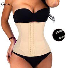 511f4e986d7 7 Spiral Steel Bones Waist Trainer Body Shaper Tummy Control Corset Loss  Weight Girdles Firm Shaperwear