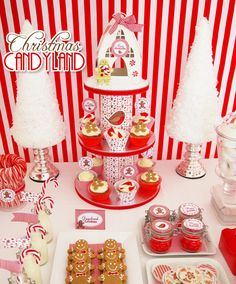 Festive #Christmas #dessert table
